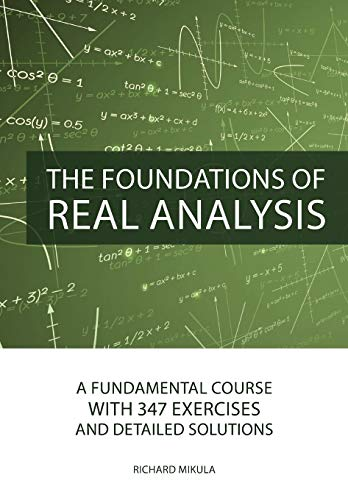 real analysis and foundations solutions manual