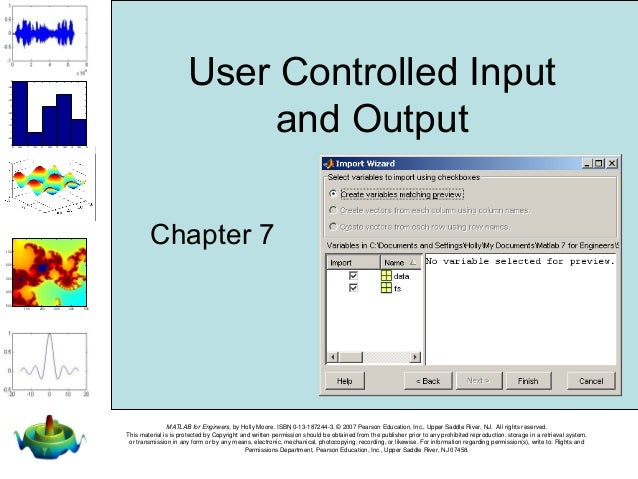matlab for engineers holly moore solutions manual