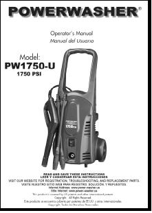 husky 1750 power washer parts manual