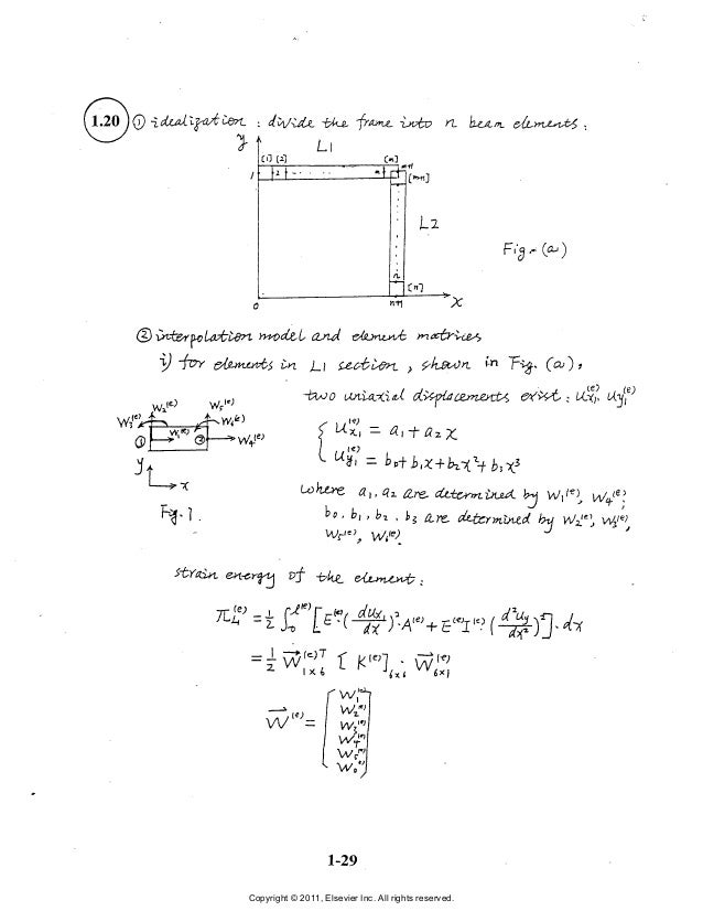 the finite element method in engineering solution manual