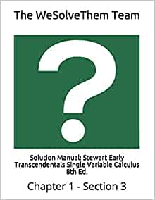 calculus early transcendentals 8th edition solution manual free