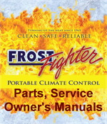 frost fighter idf 500 parts manual
