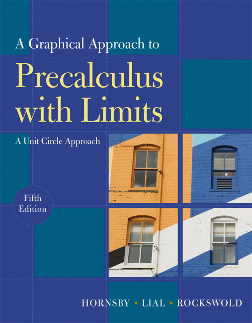 precalculus with limits a graphing approach solutions manual download