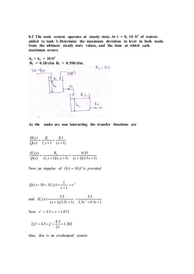 process dynamics and control solution manual chapter 2